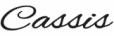 Logo Cassis im jeans Laden