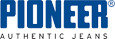 Logo Pioneer im jeans Laden